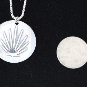 Sterling Pilgrim's Pendant