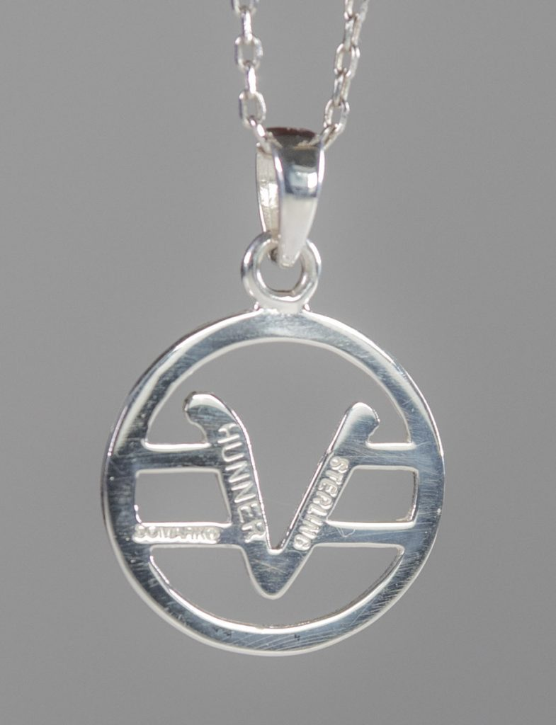 sterling silver medium sized Teaching Symbol pendant